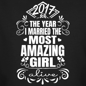 Wedding 2017 - Best Woman - T-shirt ecologica da uomo