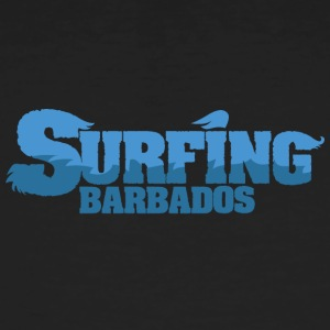 BARBADOS Surfing Country Water - Männer Bio-T-Shirt