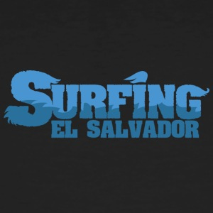 EL SALVADOR Surfing Country Water - Men's Organic T-shirt