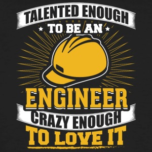 TALENTED engineer - Men's Organic T-shirt