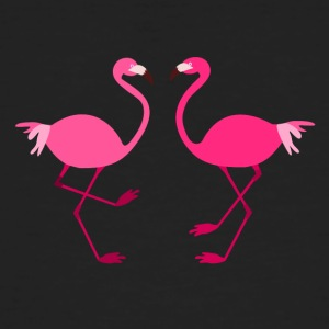 Flamingos for Spread shirts - Organic mænd