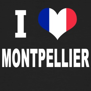 I Love MONTPELLIER - Men's Organic T-shirt