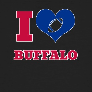 I love Buffalo - Männer Bio-T-Shirt