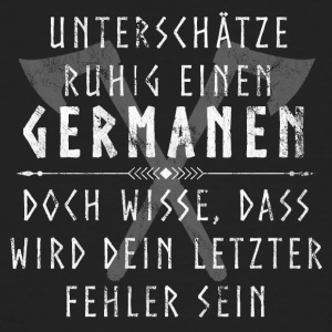 Germanen - Männer Bio-T-Shirt