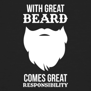 Funny beard - Men's Organic T-shirt