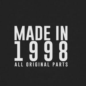 MADE IN 1998 - ALL ORIGINAL PARTS - Men's Organic T-shirt