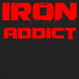 Iron addict red - Men's Organic T-shirt