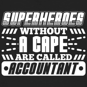 SUPERHEROES ACCOUNTANT - Men's Organic T-shirt