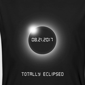 Totally Eclipsed-08.21.2017 - Økologisk T-skjorte for menn
