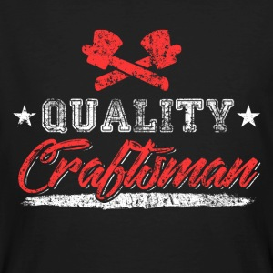 Quality Craftsman - Men's Organic T-shirt