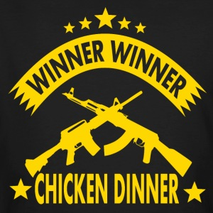 GAGNANT GAGNANT chicken dinner - T-shirt bio Homme
