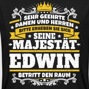 His Majesty Edwin - Men's Organic T-shirt