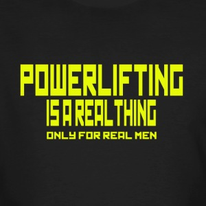 REAL THING YELLOW - Men's Organic T-shirt