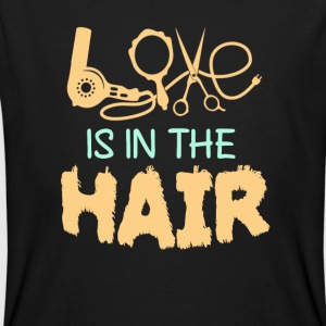 Love is in the Hair - Männer Bio-T-Shirt