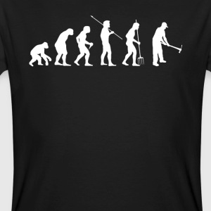 EVOLUTION FARMER - Mannen Bio-T-shirt