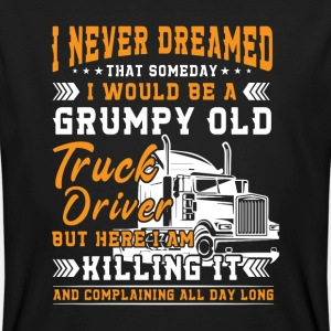 Grumpy old truck driver killing it