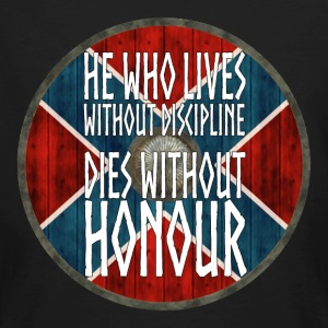 Vikings - He who lives without Discipline - Men's Organic T-shirt