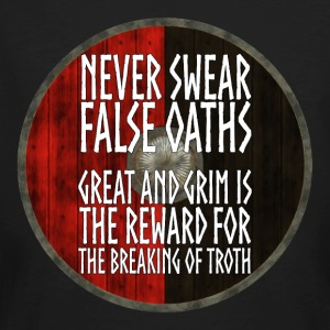 Vikings - Never swear false oaths - Men's Organic T-shirt