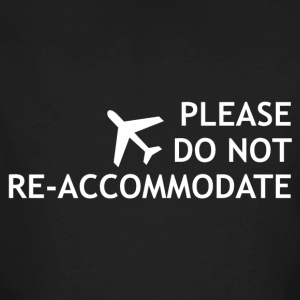 Do not re-accommodate - Männer Bio-T-Shirt