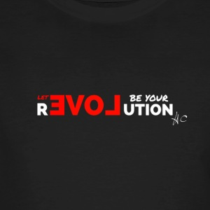 Let Love Be Your Revolution by Howard Charles - Men's Organic T-shirt