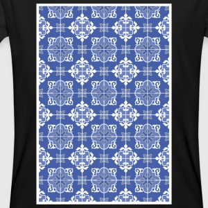 Azulejo pattern - amar o mar - Men's Organic T-shirt