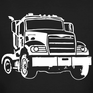 camions routiers - T-shirt bio Homme