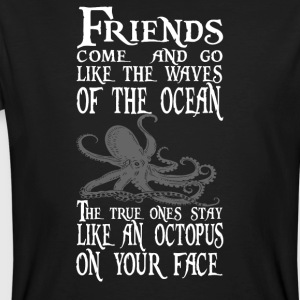 Octopus on your Face, Pirate - Men's Organic T-shirt