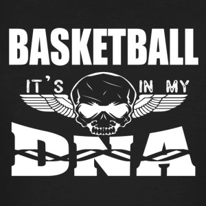 BASKETBALL - It's in my DNA - Men's Organic T-shirt