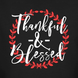 Thankful and Blessed - Men's Organic T-shirt