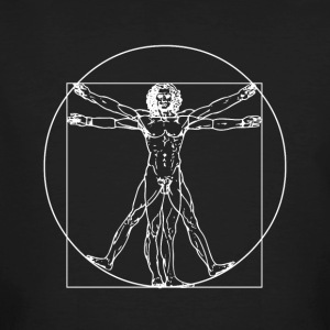 Vitruvian Man - Men's Organic T-shirt