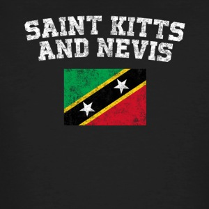 Kittian Flag Shirt - Vintage Saint Kitts and Nevis - Men's Organic T-shirt