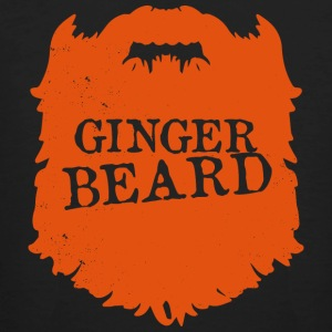 Mens Ginger Beard Mannen Club Bearded - bart - Mannen Bio-T-shirt