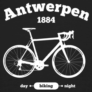 Bicycle Antwerp - Men's Organic T-shirt
