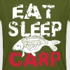 eat sleep carp - Men's Organic T-shirt
