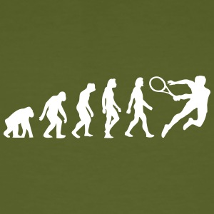The Evolution Of Tennis - Men's Organic T-shirt