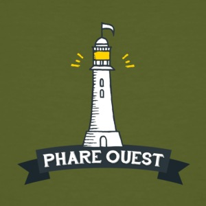 Phare West - Männer Bio-T-Shirt