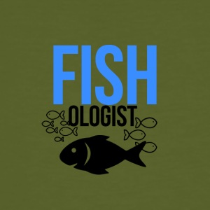 Being a Fishologist Love Fishing - Men's Organic T-shirt