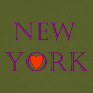 New York 3 - Männer Bio-T-Shirt
