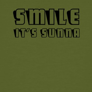 Smile- it's sunna - Männer Bio-T-Shirt