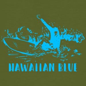 Hawaiian Blue Surfer - Ekologisk T-shirt herr