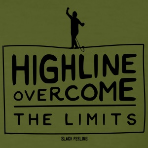 Overcome the Limits Small Design - Men's Organic T-shirt