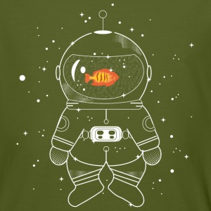 Astronaut with goldfish
