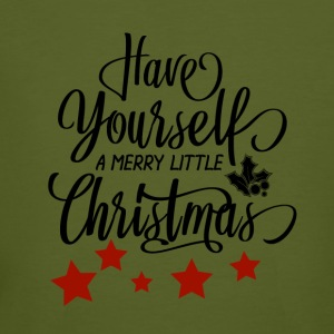 Have Yourself a merry little Christmas - Männer Bio-T-Shirt