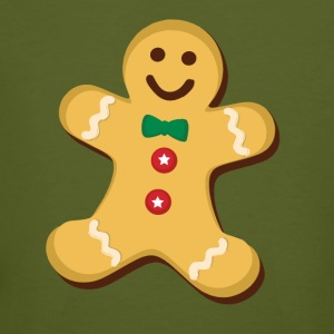 gingerbread man - Men's Organic T-shirt