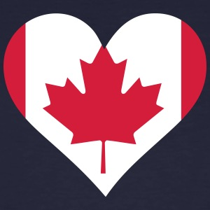 A Heart For Canada - Men's Organic T-shirt