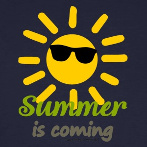 SummerIsComing - Männer Bio-T-Shirt