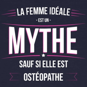 Osteopathe femme ideale Osteopathe - T-shirt bio Homme
