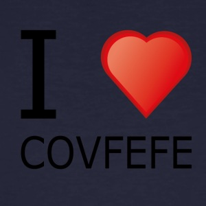 I love cofefe Trump Donald Usa Black - Men's Organic T-shirt