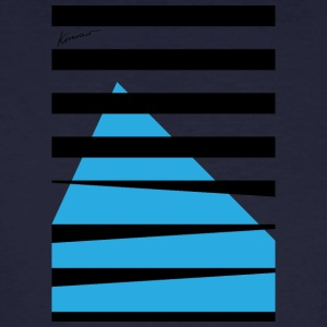 Stripes Blue - Men's Organic T-shirt