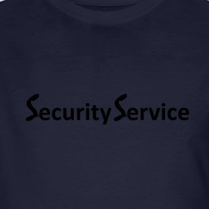 Security Service - Männer Bio-T-Shirt